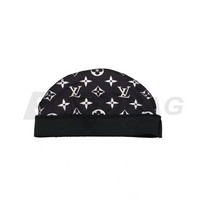 Black LV Wave Cap