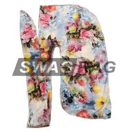 Pretty Flowers Swag Rag (Polyester)