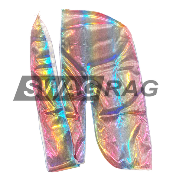 Pink Holographic Swag Rag