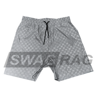 Silver GG Swim Trunks (3M Reflective)