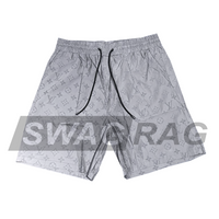 Silver LV Swim Trunks (3M Reflective)