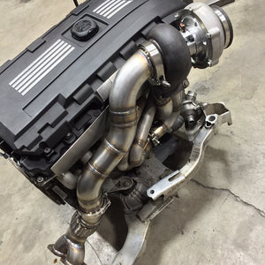 BMW 335i single turbo kit is now available!