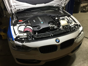 N55 F30 Top Mount Turbo Kit Development