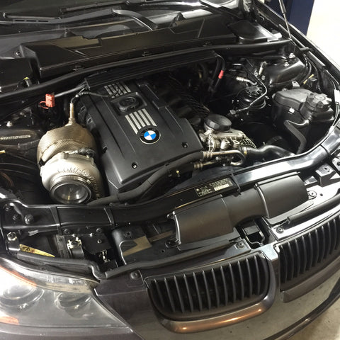 BMW 335i single turbo kit is now available! – DOCRace