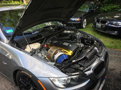 Bmw 335i 135i N54 Top Mount Single Turbo Kit Docrace