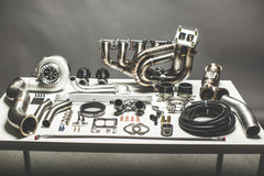 BMW 335i 135i N54 Top Mount Single Turbo Kit