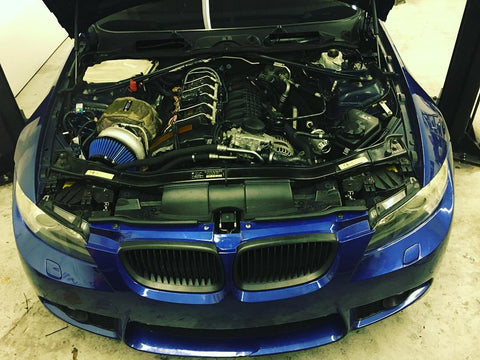 BMW 335i 135i N54 Top Mount Single Precision Turbo Kit – DOCRace