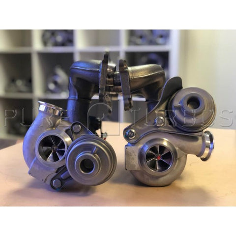 New PURE600 N54 Upgrade Turbos