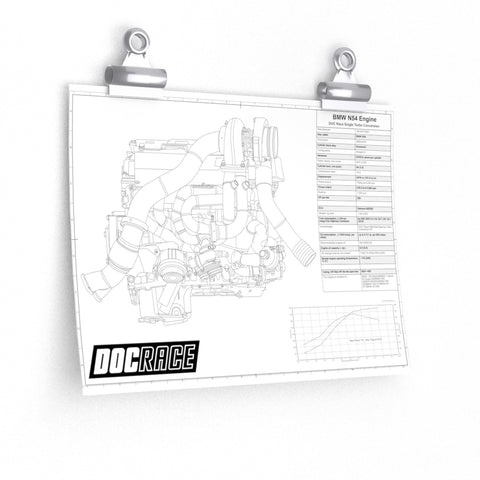 N54 DOC Race Single Turbo Blueprint