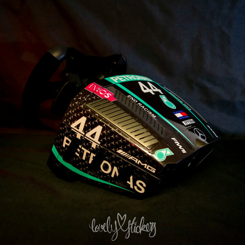 "44 2020 ""Black lives Matter"" AMG Petronas Mercedes F1 Livery"