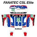#66 2016 Ford GT GTE Ecoboost Livery