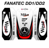 Mika McLaren West Classic F1 2000s Livery