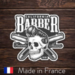 Barber Shop Logo - Skull
