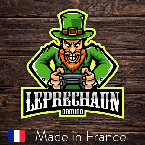 ESport Logo Sticker - Leprechaun