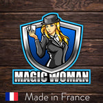 ESport Logo Sticker - Magic Woman