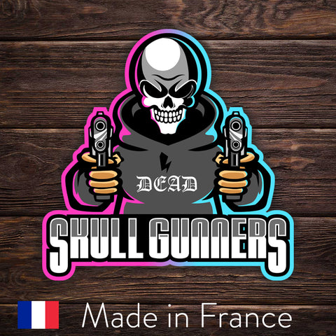 ESport Logo Sticker - Skull Gunners