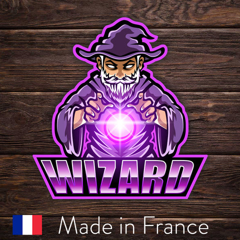 ESport Logo Sticker - Wizard
