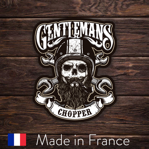 Gentleman Chopper Skull