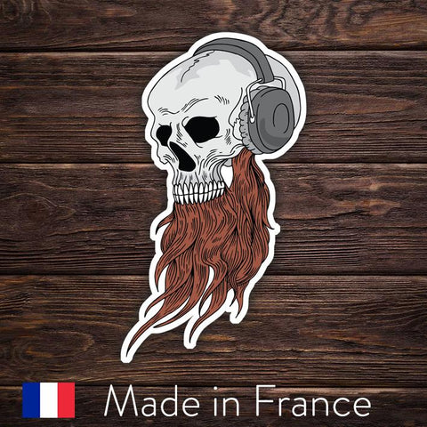 Musical Bearded Skull