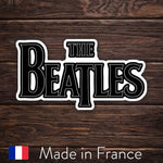 The Beatles Logo - Black