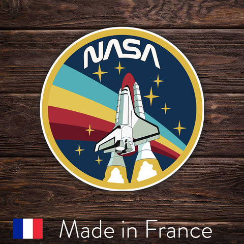 NASA Logo Rocket