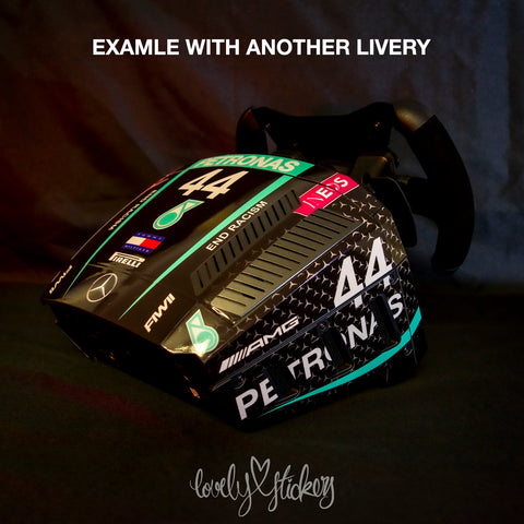 "77 2020 ""Black lives Matter"" AMG Petronas Mercedes F1 Livery"