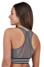 Load image into Gallery viewer, South Beach Open Mesh Back Detail Sports Bra