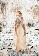 Load image into Gallery viewer, Angel Wing Kaftan Luxe - Golden Goddess