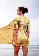Load image into Gallery viewer, ARCHANGEL GABRIEL Angel Wing Kimono Luxe - Golden Goddess / 85cm