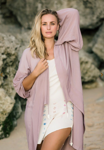 ARCHANGEL GABRIEL Angel Wing Everyday Kimono - 75cm Violet and Caramel Wings