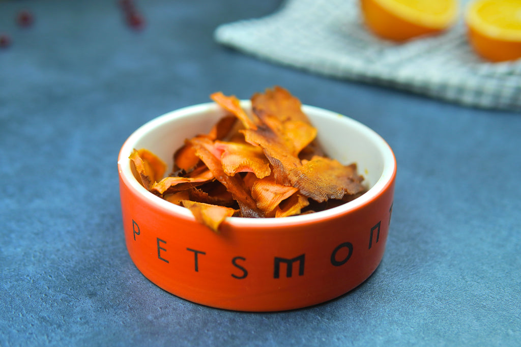 DIY Baked Sweet Potato Chips for Dogs Recipe