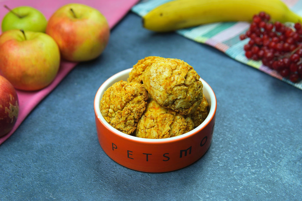 DIY Carrot Cookies for Dogs Recipe