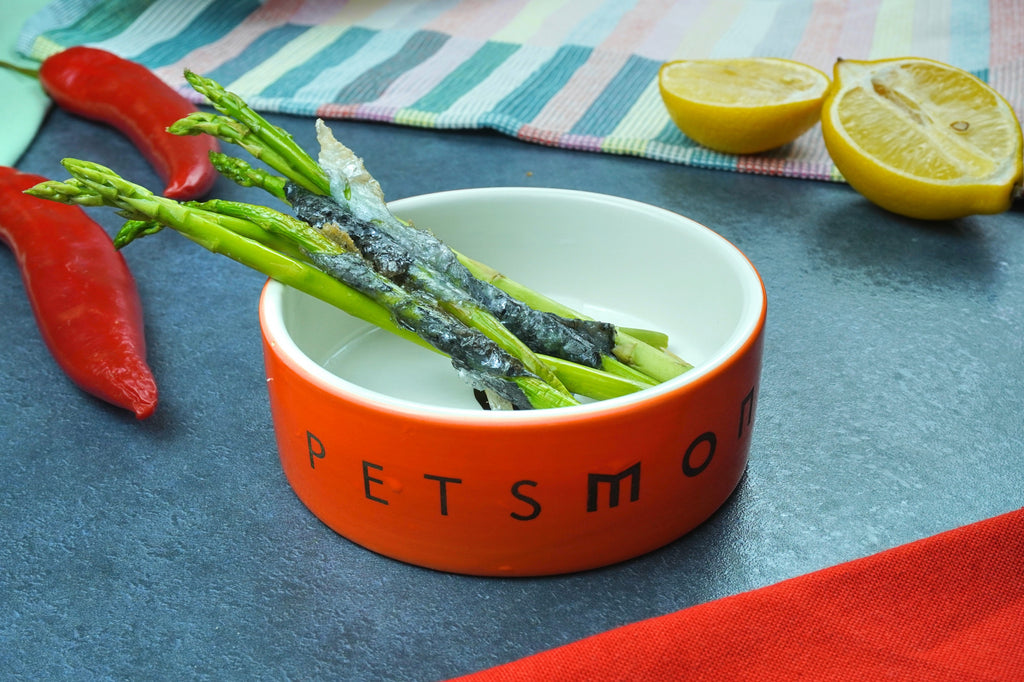 DIY Kitty Cat Asparagus Wraps Recipe