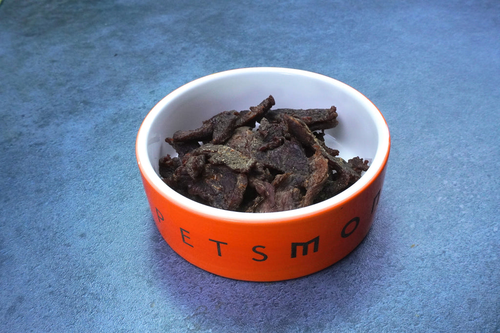DIY No Sodium Beef Jerky Treats for Dogs Recipe