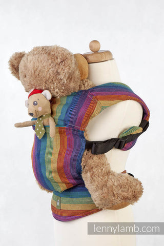 DOLL CARRIER MADE OF WOVEN FABRIC, 60% COTTON 40% BAMBOO - PARADISO - The Birth Shop