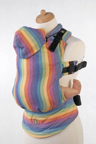 Ergonomic Carrier Broken-twill weave 60% Cotton 40% Bamboo SUNRISE RAINBOW - The Birth Shop
