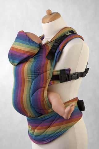 Ergonomic Carrier Broken-twill weave 60% Cotton 40% Bamboo PARADISO - The Birth Shop