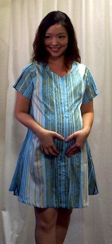 Allie Hospital Gown - The Birth Shop