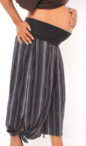 Belly Wide Leg Tie Pants (SALE!) - The Birth Shop