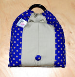 Basic Cotton - Polka Marine - Khaki - The Birth Shop