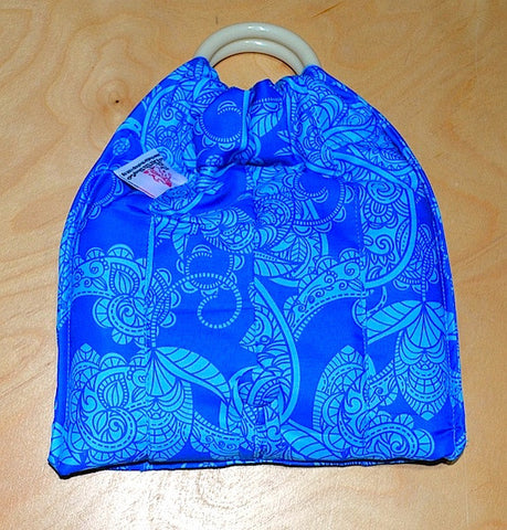 Basic Cotton - Blue Batik - The Birth Shop