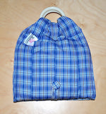 Basic Cotton - Checkered Blue - The Birth Shop