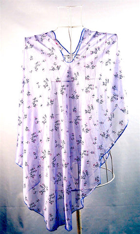 Summer Feather Lightweight Scarf - Lilac Floral - The Birth Shop