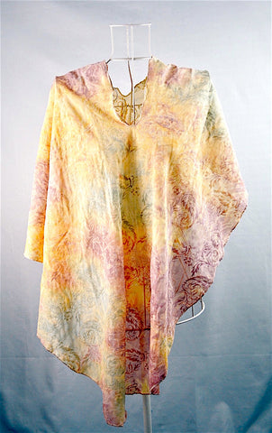 Summer Feather Lightweight Scarf - Sunshine