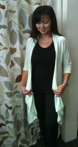 3/4 Sleeve Nursing Cardigan - The Birth Shop