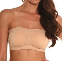 Padded Seamless Bandeau (with removable pads)