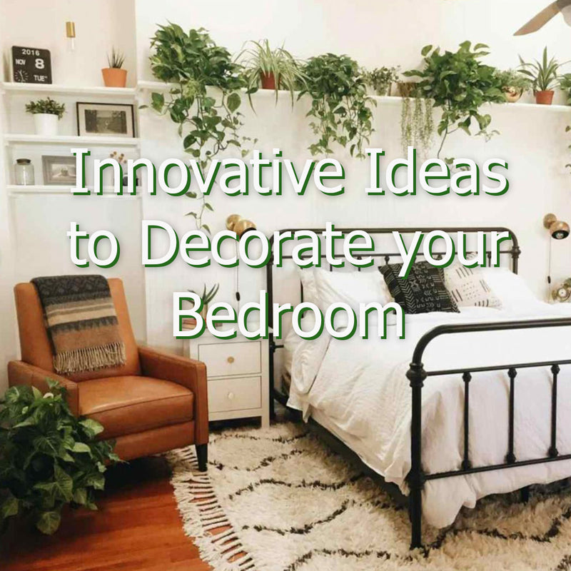 Innovative Ideas to decorate and make your Bedroom Nature Friendly!