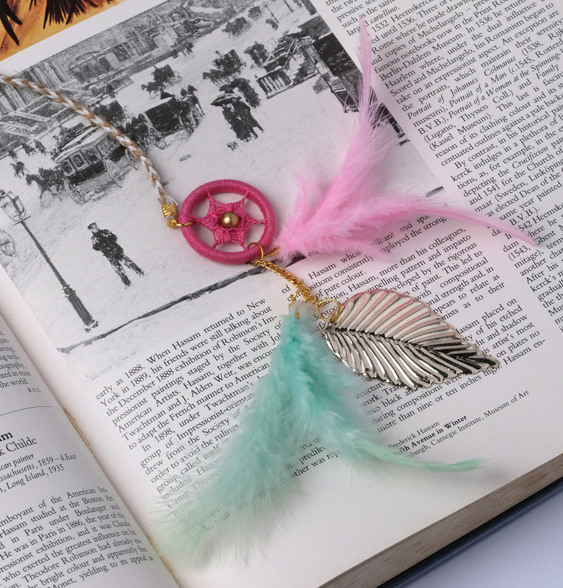 Pastel Bookmark Dream Catcher