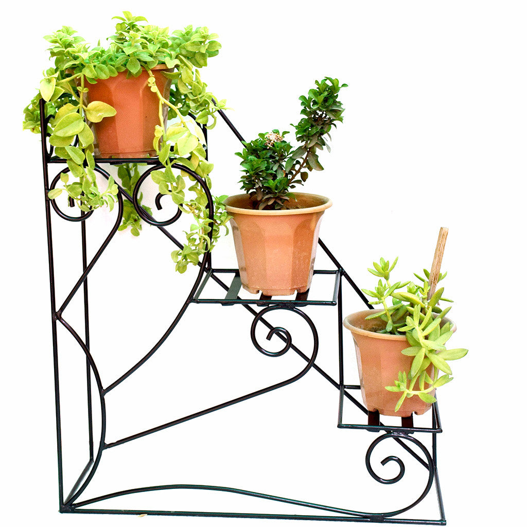 3 Tier Stair Planter Stand