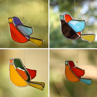 Set of 4 Suncatcher 3D Birds